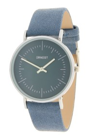 """Ernest horloge """"Luana"""" jeansblauw"""