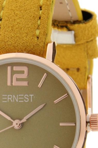 Ernest horloge Rosé-Cindy-Mini SS-18 mostard