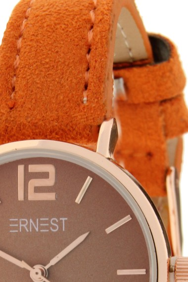 Ernest horloge Rosé-Cindy-Mini SS-18 oranje