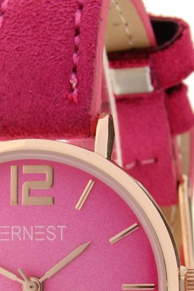 Ernest horloge Rosé-Cindy-Mini SS-18 fuchsia