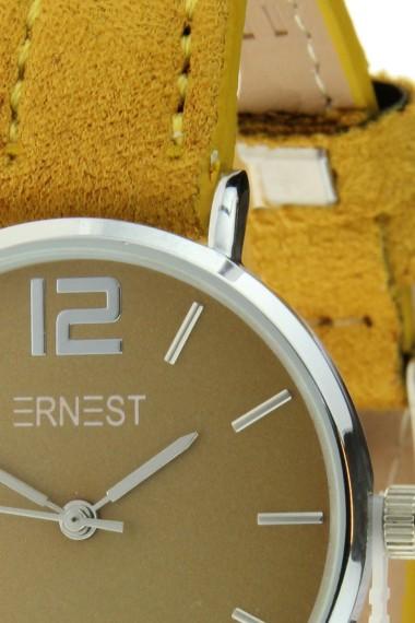 Ernest horloge Silver-Cindy-Mini SS-18 mostard