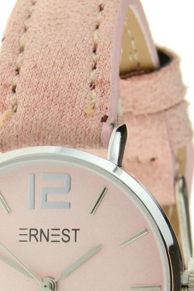 Ernest horloge Silver-Cindy-Mini SS-18 lichtroze