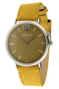 Ernest horloge Silver-Cindy-SS18 mostard