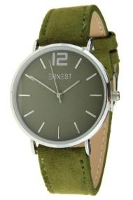 Ernest horloge Silver-Cindy-SS18 donkergroen