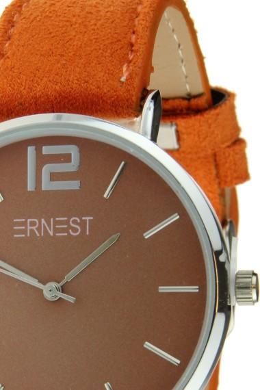 Ernest horloge Silver-Cindy-SS18 oranje
