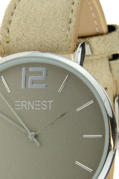Ernest horloge Silver-Cindy-SS18 beige