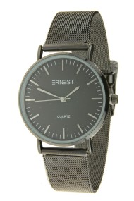 "Ernest horloge ""Grace"" zwart-zwart"