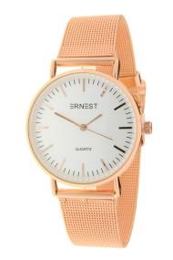 """Ernest horloge """"Grace"""" rosé-wit"""