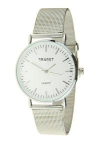 """Ernest horloge """"Grace"""" zilver-wit"""