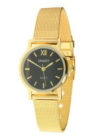 "Ernest horloge ""Holly"" goud-zwart"