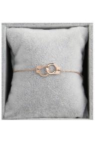 "Armband ""Handcuffs"" rosé"