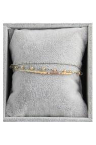 "Armband ""Triple Beads"" beige"
