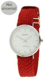 """Ernest horloge """"Loiysa-Mini"""" rood"""