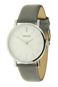 """Ernest horloge """"Silver Andrea"""" grijs"""