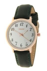 """Ernest horloge """"Robin"""" donkergroen"""