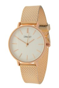 "Ernest horloge ""Cindy-Shine-Medium"" rosé-wit"