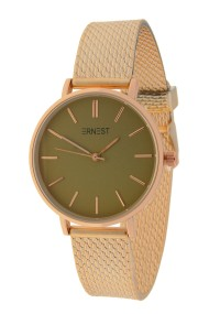 "Ernest horloge ""Cindy-Shine-Medium"" rosé-groen"