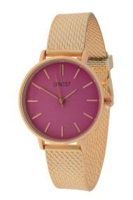 "Ernest horloge ""Cindy-Shine-Medium"" rosé-fuchsia"