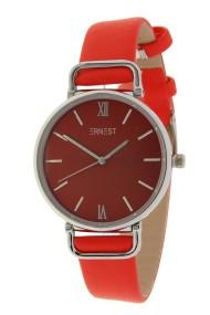 """Ernest horloge """"Pepper"""" rood"""