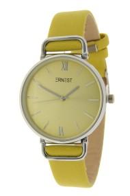 """Ernest horloge """"Pepper"""" mostard"""
