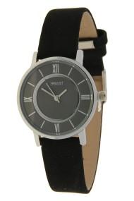 "Ernest horloge ""Roya"" zwart"