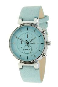 """Ernest horloge """"Dya"""" lichtblauw"""