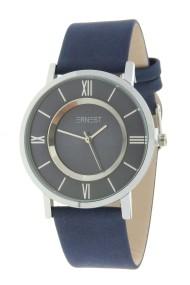 "Ernest horloge ""Silver-Roya"" donkerblauw"