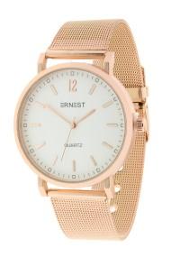 """Ernest horloge """"Senza"""" rosé"""