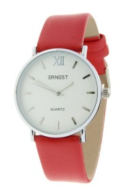 """Ernest horloge """"Zurich"""" rood"""
