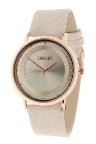 "Ernest horloge ""Rosé-Milano"" beige"