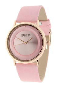 """Ernest horloge """"Rosé-Milano"""" lichtroze"""