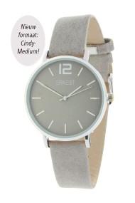 """Ernest horloge """"Silver-Cindy-Medium"""" lichtgrijs"""
