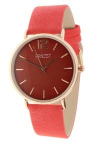 Ernest horloge Rosé-Cindy rood