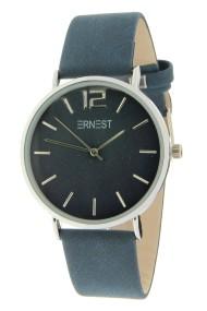 Ernest horloge Silver-Cindy donkerblauw