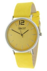 Ernest horloge Silver-Cindy geel