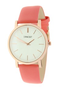 "Ernest horloge ""Rosé-Andrea"" koraal"
