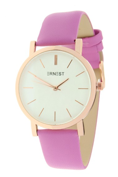 """Ernest horloge """"Rosé-Andrea"""" fuchsia"""