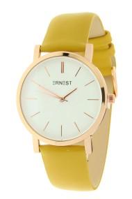 "Ernest horloge ""Rosé-Andrea"" mostard"