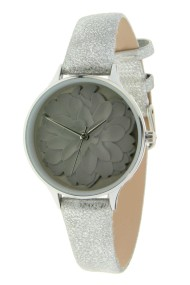 """Ernest horloge """"Rosine"""" zilvergrijs"""