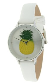 "Ernest horloge ""Pineapple"" wit"