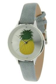 "Ernest horloge ""Pineapple"" donkergrijs"