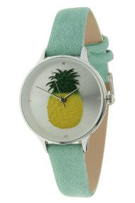 "Ernest horloge ""Pineapple"" mint"