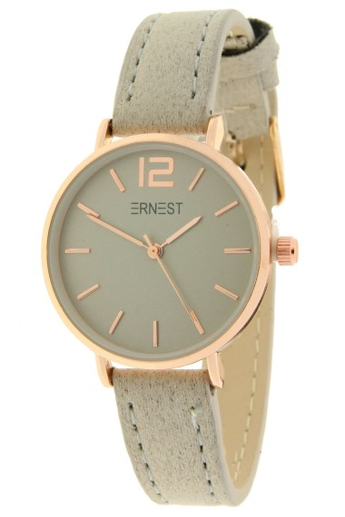 Ernest horloge Rosé-Cindy-Mini SS-18 zand