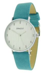 "Ernest horloge ""Lissabon"" turquoise"