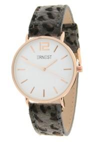 "Ernest horloge ""Rosé-Cindy-Leopard"" grijs"