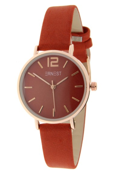 Ernest horloge Rosé-Cindy-Mini FW-18 brick