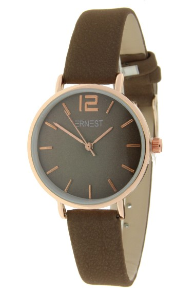 Ernest horloge Rosé-Cindy-Mini FW-18 mocca
