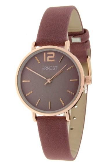 Ernest horloge Rosé-Cindy-Mini FW-18 donkeroudroze