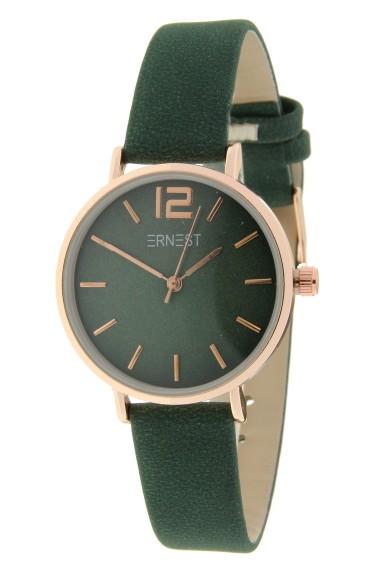 Ernest horloge Rosé-Cindy-Mini FW-18 donkergroen