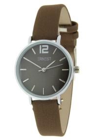Ernest horloge Silver-Cindy-Mini FW-18 mocca